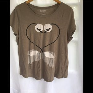 Old Navy Swans 🦢T-shirt Size XL